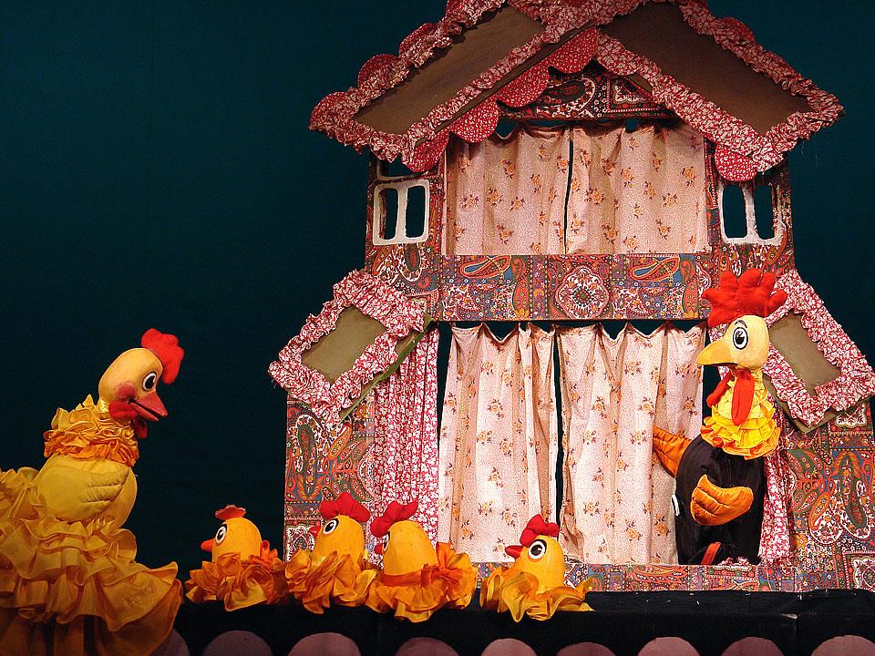 Кошкин дом кукольный театр своими руками 63